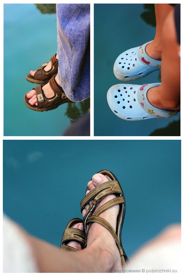 Над водой в Венеции