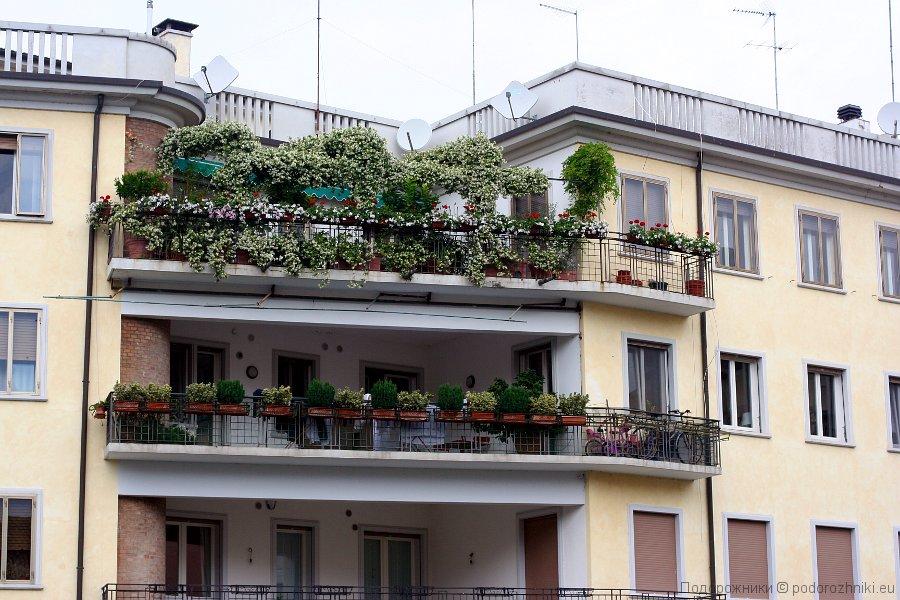 Балконы Тревизо