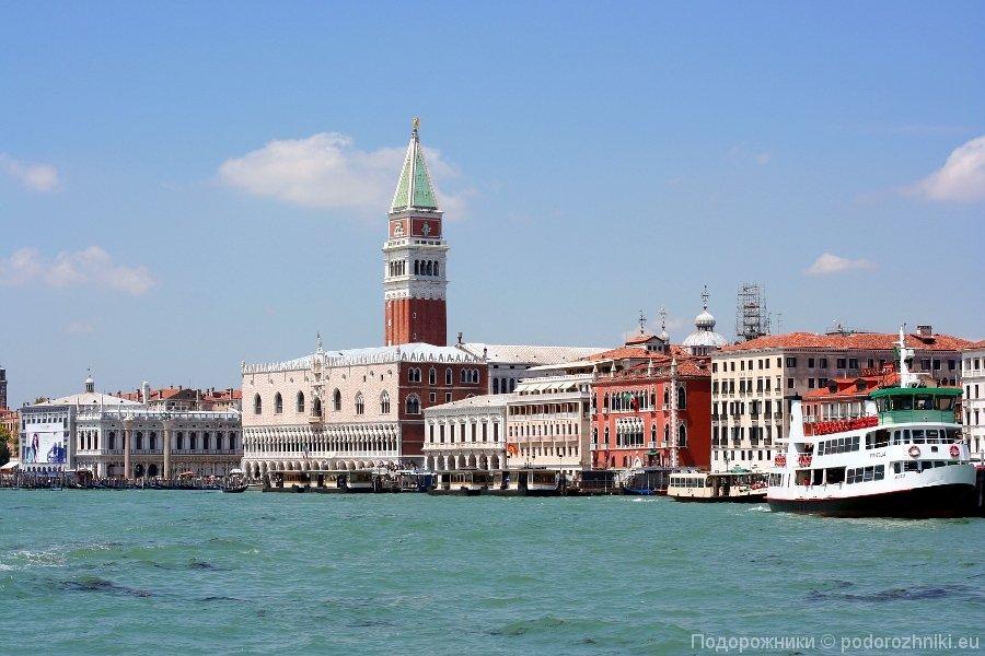 Венеция из залива