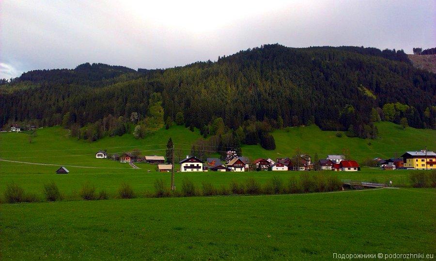 Австрия, Зальцкаммергут, альпийские луга