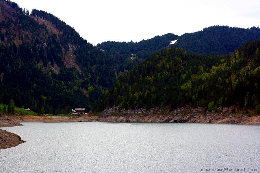 Озеро Госау - нижнее