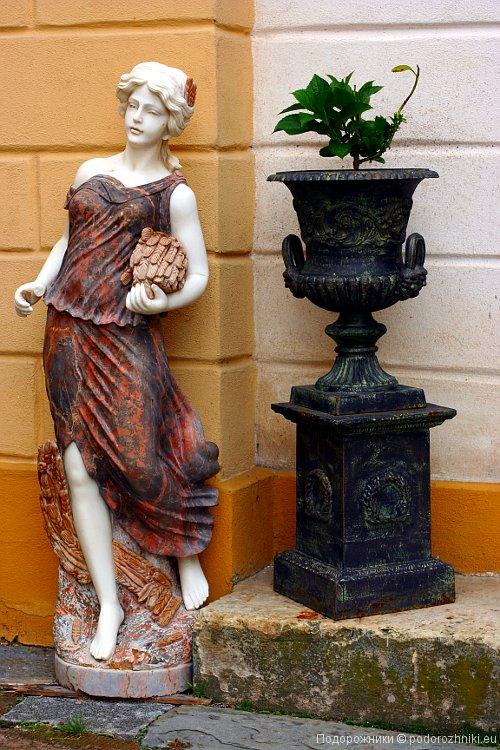Статуя в Летовице