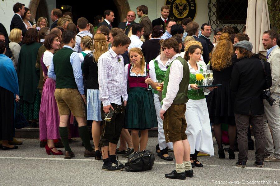 Национальные костюмы в Австрии