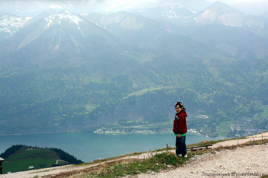Сашка и горы
