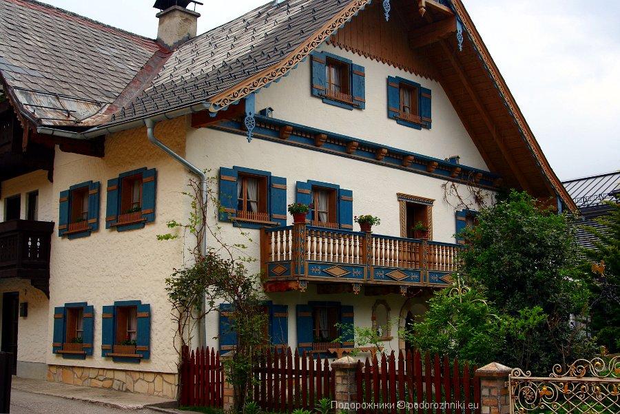 Австрийский домик в Санкт Гильгене