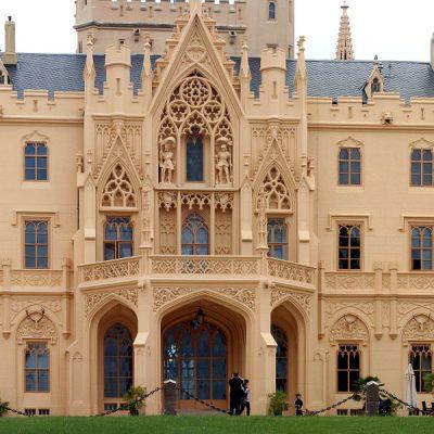 Замок-дворец Lednice