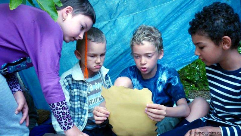 Карта и мальчишки