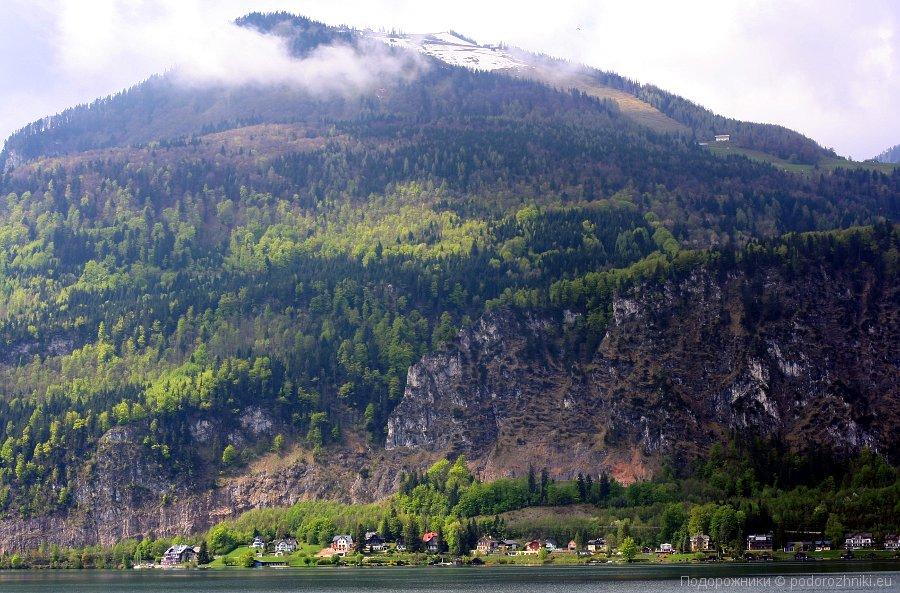 Шафберг с озера Вольфгангзе