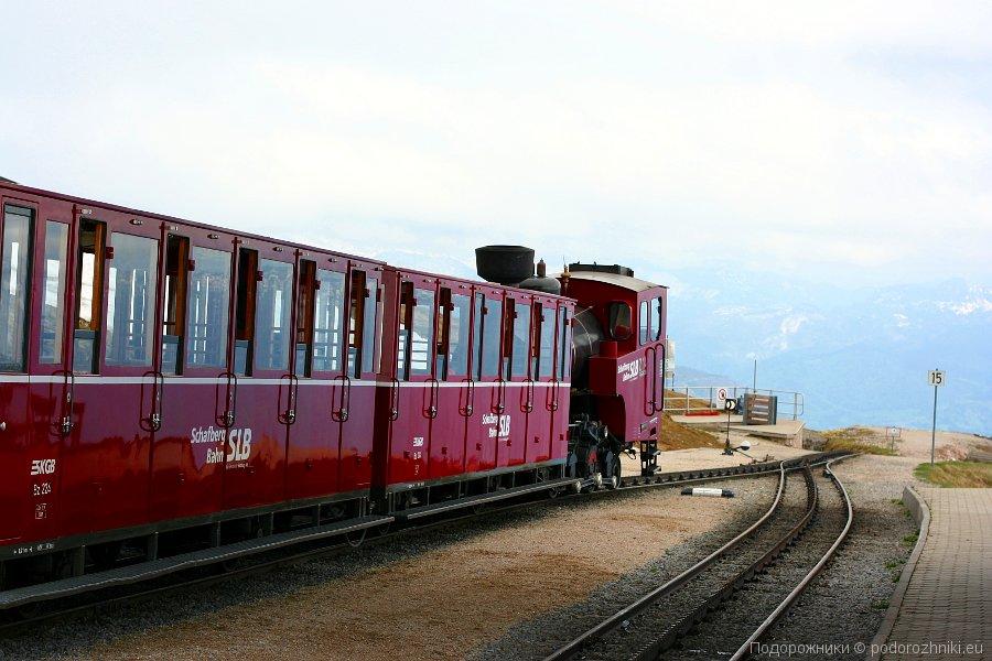 Паровой локомотив Шафбергбан