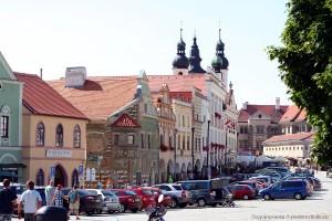 Центральная площадь Тельча