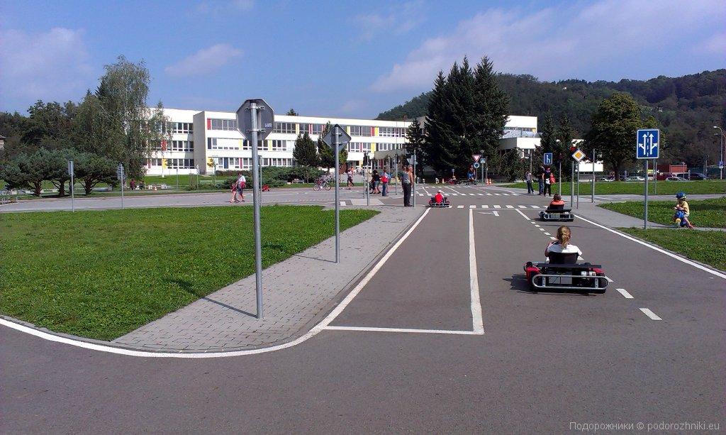 Дороги на транспортной площадке