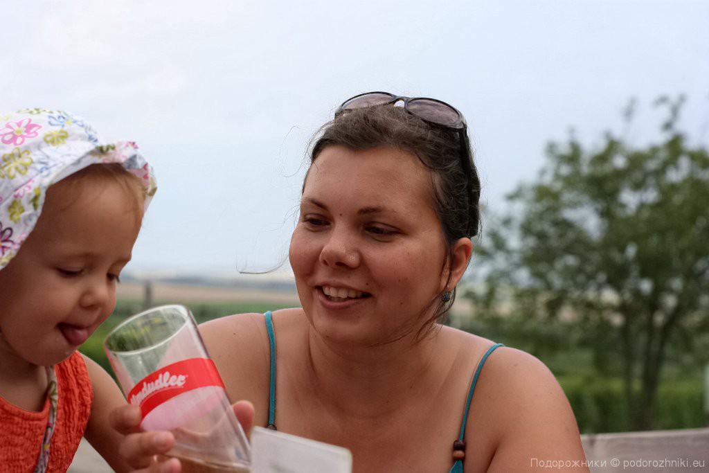 Вика и Лида в Миттеррецбахе