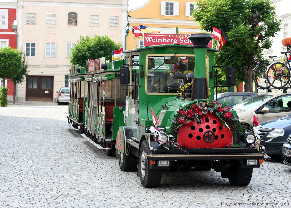Экскурсионный паровозик в Реце