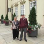 Туристы в Брно