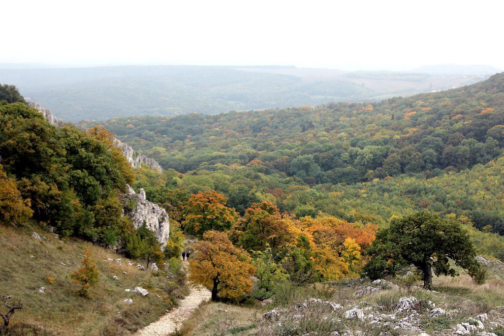 Палава осенью, Южная Моравия