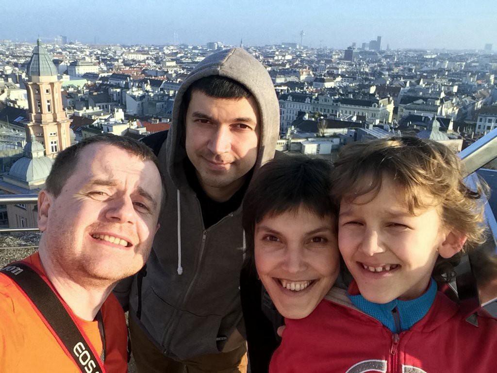 Подорожники в Вене