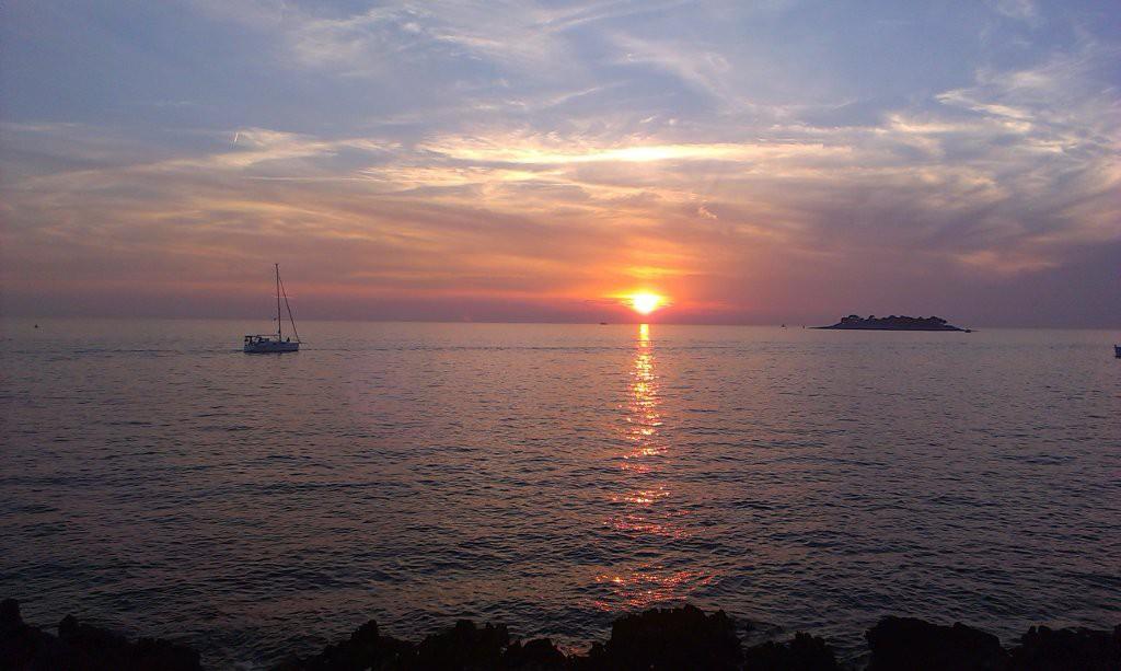 Хорватия, Врсар, море