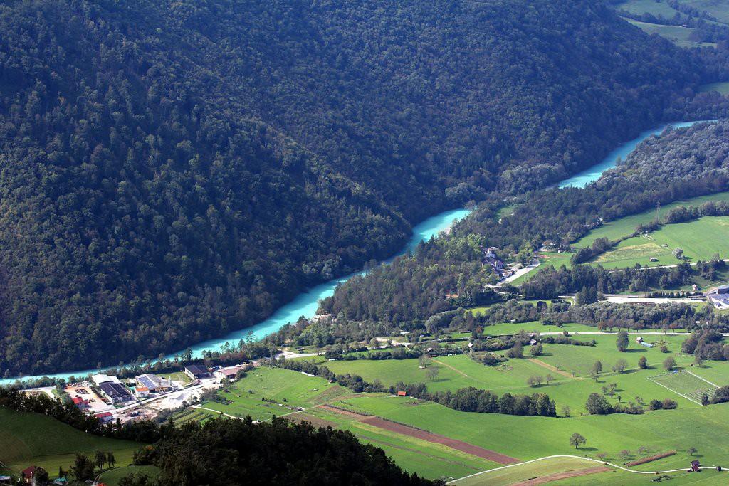 Река Соча, Словения
