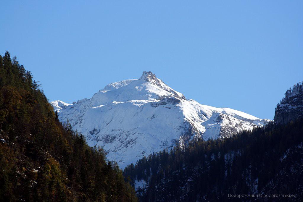 Виды на горы в Берхтесгадене
