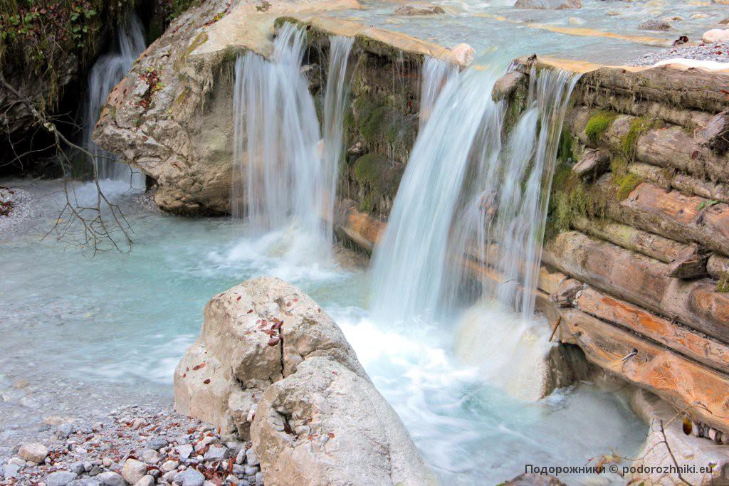 Водопад у озера Кенигсзе