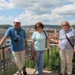 Иван, Татьяна и Ирина в Брно