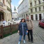 Наши туристы в Брно: Наталья и Борис