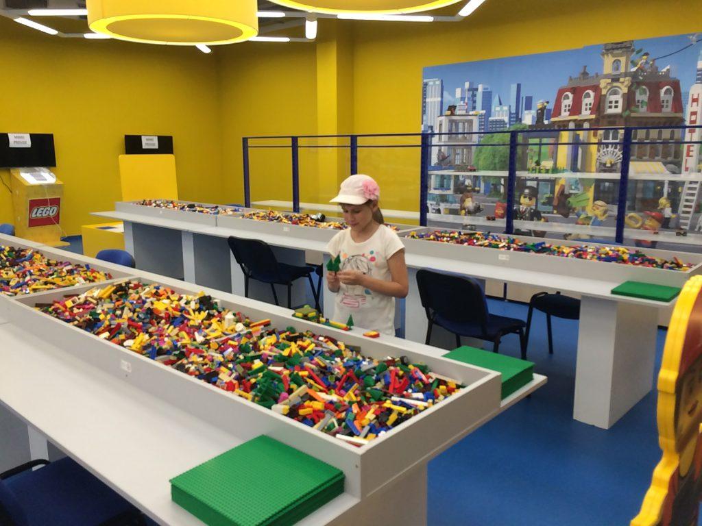 Лего-центр в Олимпии