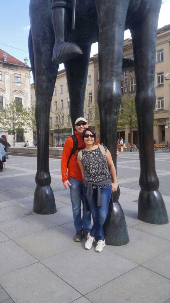 Наши туристы в Брно: Alba, США