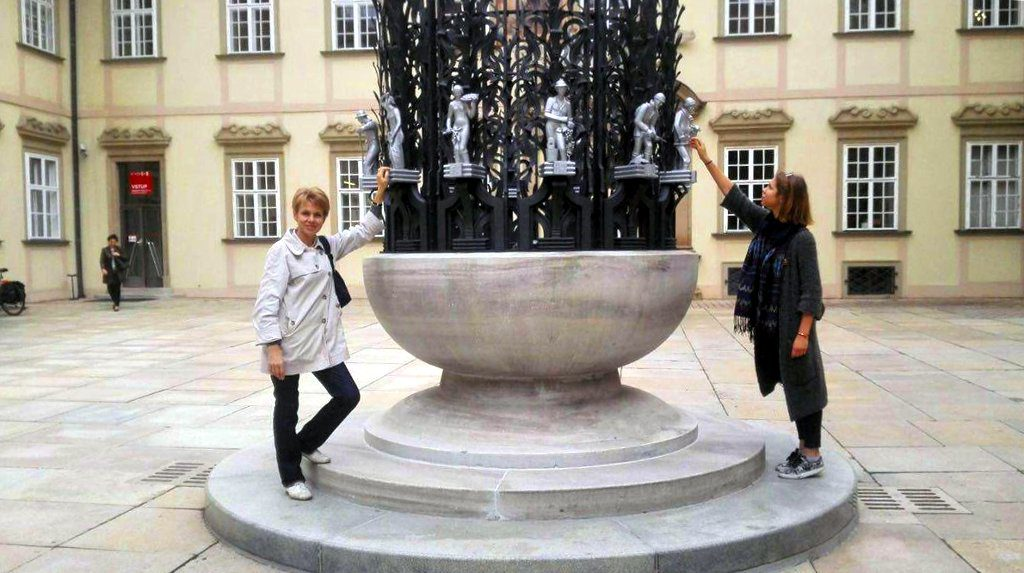 Наши туристы в Брно - Елена