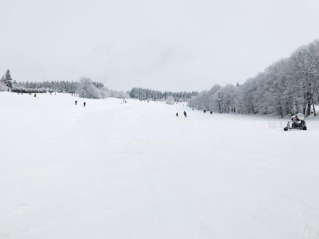 Горнолыжная трасса в Чехии