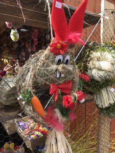 Пасхальный декор на ярмарке в Брно. Чешские традиции.