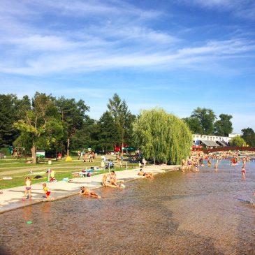 Пляжи и летние бассейны в Брно