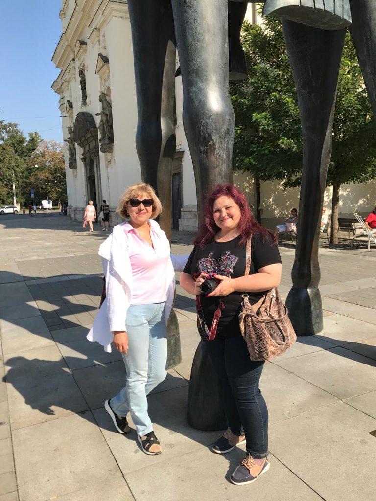 Марина и Татьяна в Брно на экскурсии