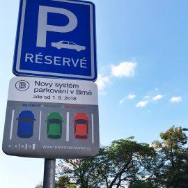 Парковка в Брно с ценами и координатами