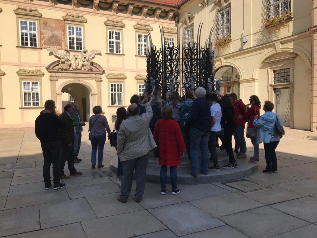 Наши туристы: экскурсия с группой из Венгрии в Брно