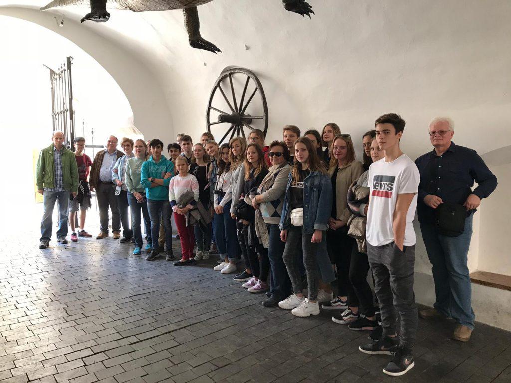 Экскурсия с группой из Венгрии в Брно