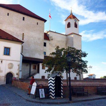Крепость Шпилберк в Брно