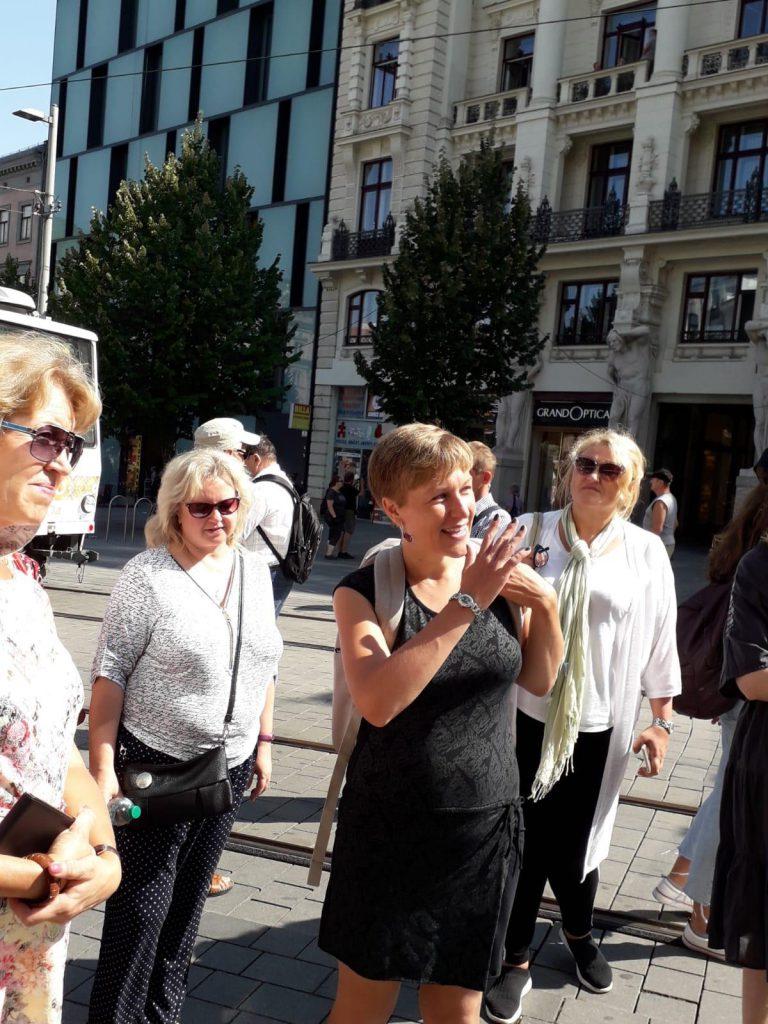 Экскурсия в Брно, наши туристы