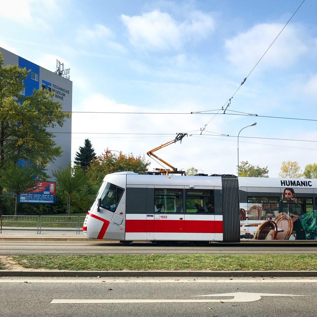 Общественный транспорт в Брно