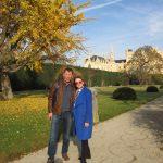 Наши туристы в Леднице: Геннадий и Элла