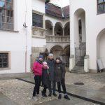 Наши туристы в Брно. Экскурсия с Аленой и ее семьей