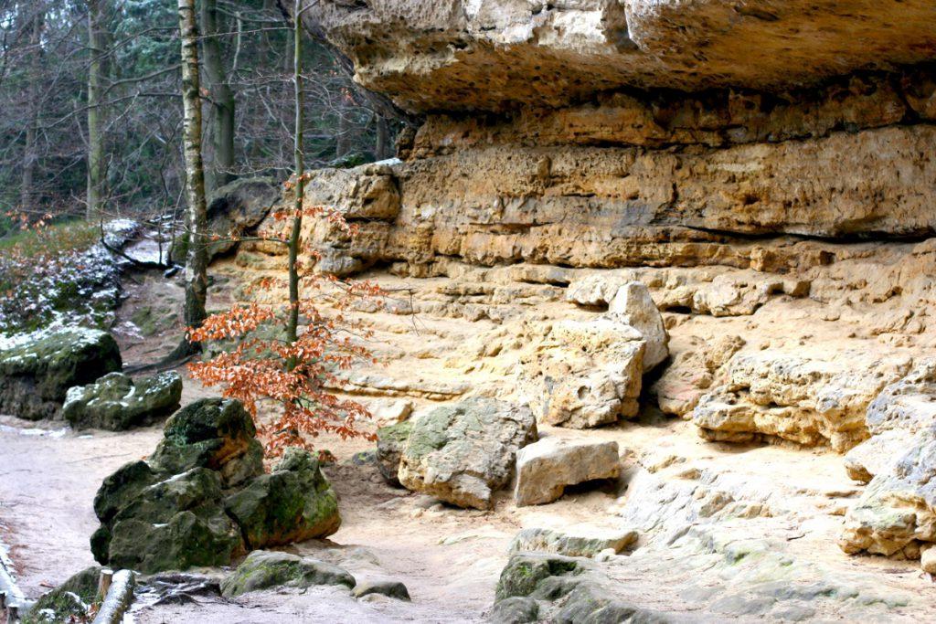 Песчаник у Правчицких ворот
