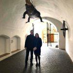 Наши туристы в Брно: Евгения с семьей из Москвы