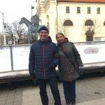 Наши туристы в Брно: Александра и Лариса из Санкт-Петербурга