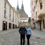 Наши туристы в Брно: Андрей и Марина, Чебоксары