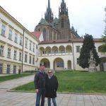 Наши туристы в Брно. Евгений