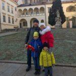 Наши туристы в Брно: Екатерина и семья из Москвы