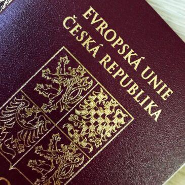 Чешский паспорт - гражданство