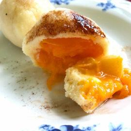 Рецепт сладких чешских кнедликов с абрикосами